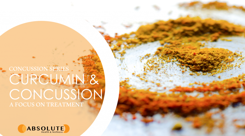 picture of blog post about curcumin and it's effects on concussion